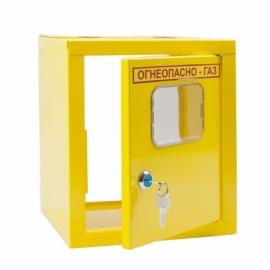Ящик для счетчика газа  G 1 Желтый без задней стенки