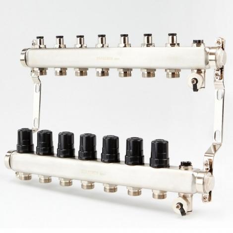 Коллектор для системы отопления BRASSMEN на 7 выходов