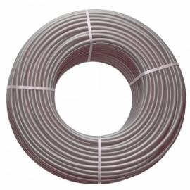 Труба для теплого пола 16х2,2 с кислородным барьером (серая)