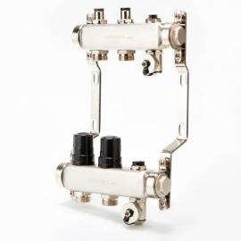 Коллектор для системы отопления BRASSMEN на 2 выхода