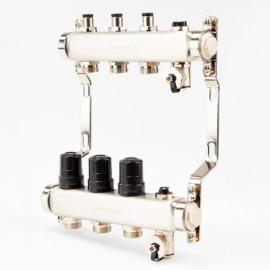 Коллектор для системы отопления BRASSMEN на 3 выхода