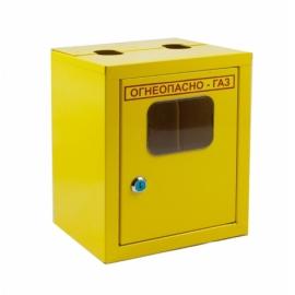 Ящик для счетчика газа G4 (110мм) Желтый (с дверцей)