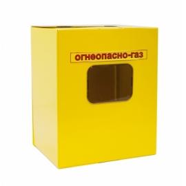 Ящик для счетчика газа G 1 6-4  Желтый