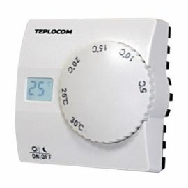 Термостат Teplocom TS-2АА/8А проводной